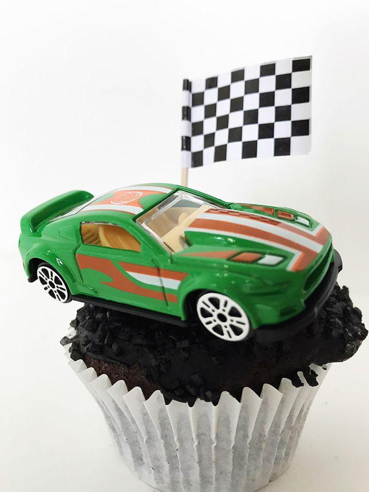 gefeliciteerd race auto