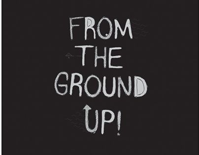 "Check out new work on my @Behance portfolio: ""FROM THE GROUND UP! (zine)"" http://on.be.net/1MNnLG9"
