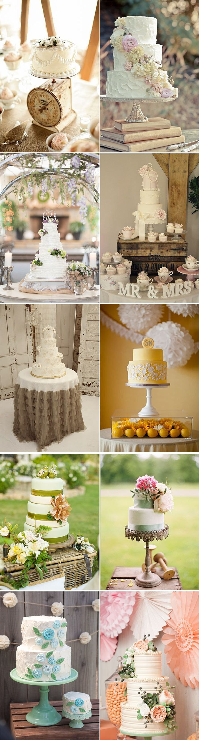 10 ideas originales para presentar las tartas en las bodas: hay que presentar y colocar con estilo la tarta para que hipnotice a nuestros invitados durante toda boda.
