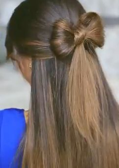 How To Make A Bow In Your Hair? Follow this Making Hair Bows Tutorial - Easy Girls Hairstyles