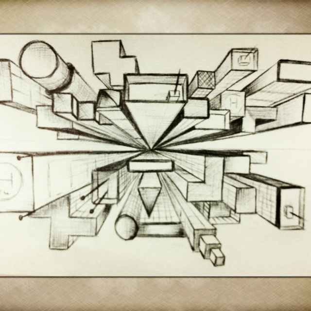 Perspective Art, One