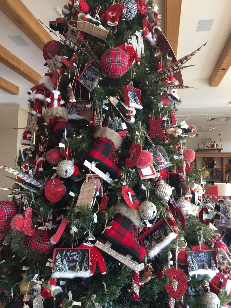 Christmas Tree Decor Pinterest