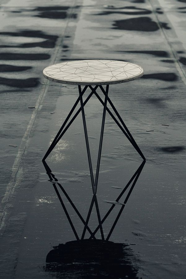 Poly - Side table with process on Behance