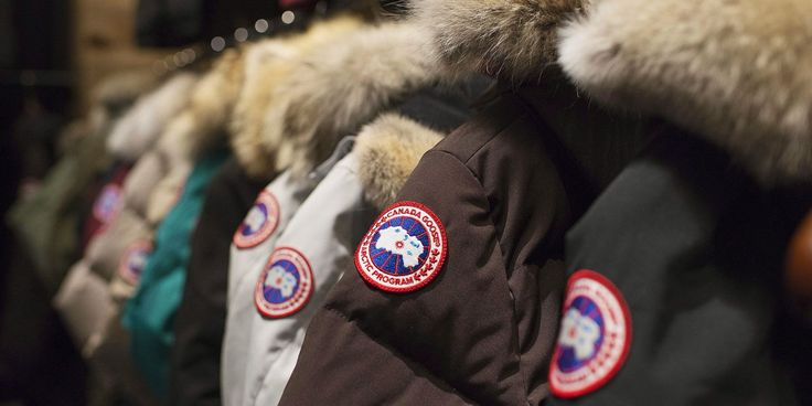 Garments on display at the Canada Goose Inc. showroom in Toronto on Thursday, November 28, 2013. The head of Canada Goose is setting his sights on India and other parts of Asia as he looks beyond cold weather for future growth in the jacket business. Dani Reiss concedes that stocking shelves in warm climates might seem usual, but he says it makes sense for the company's high-end outerwear, which has become a fashion statement as well as a way to stay warm. THE CANADIAN PRESS/Aaron Vincent…