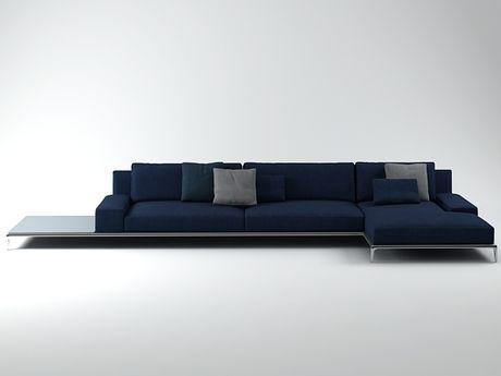 Poliform park sofa 01 3d model carlo colombo furniture for Carlo colombo