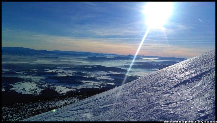 Babia Góra / Diablak / Beskidy #Babia Góra #Diablak #Beskidy #Babiogórski-Park-Narodowy #BPN #góry #Poland #Polska #mountains panorama-na-Tatry-z-Babiej Góry #Zawoja #szlaki_górskie #turystyka