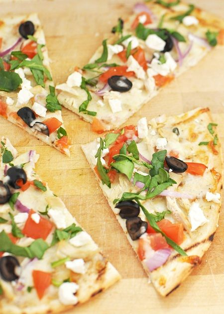 Greek Chicken Pizza Recipe