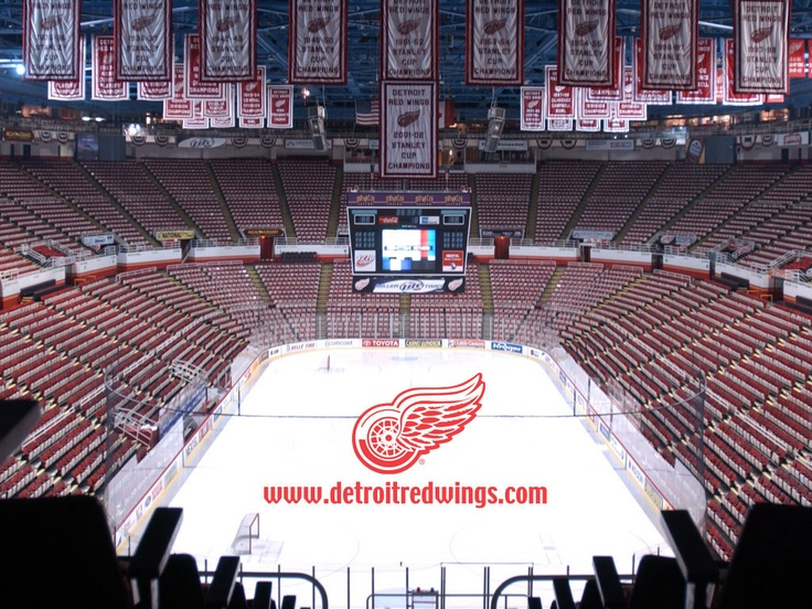 Detroit Red Wings Arena Wallpapers | 1024x768