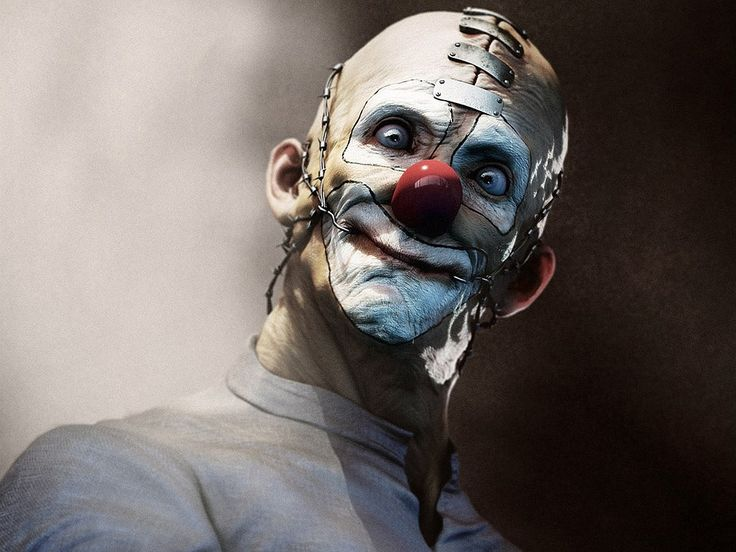 Images for Desktop: clown pic, Ted Brian 2017-03-05