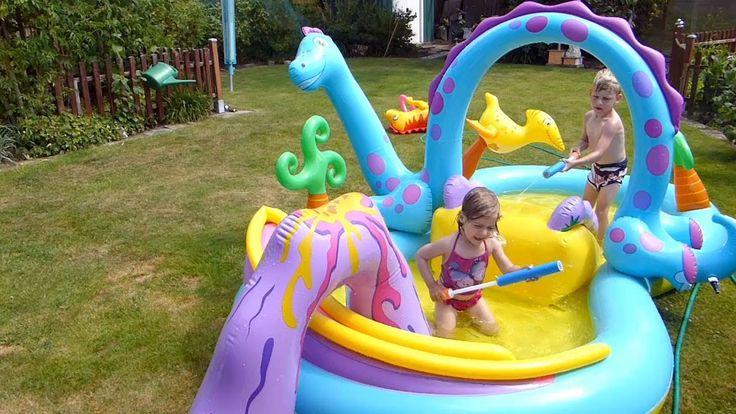 #дети #счастье #сын #любовь  #детицветыжизни #дочь #бассейн #лето #весело #смех #радосты #детскиеигры #детскаяигра #вода #обливатьсяводой
