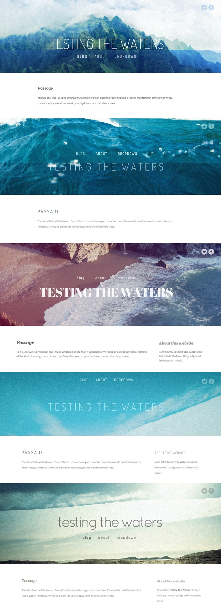 Horizon-lg: Web Design, Web Interactive Ui, Multimedia Design, Squarespac Templates, Squarespace Tips, Water Squarespac, Prints Design, Blogging Website Design, Design Website