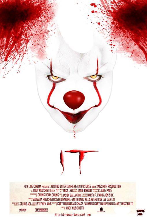 Stephen King IT Remake Poster by Bryanzap on DeviantArt