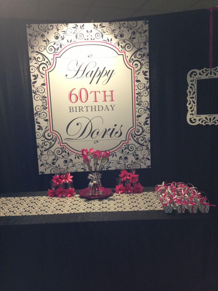 60th Birthday For Mom 60th Birthday Pinterest 60th