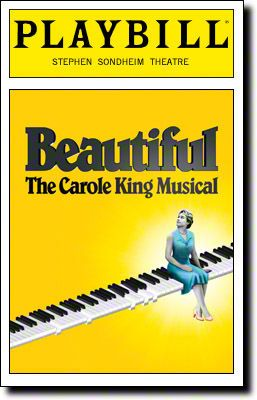 Beautiful: The Carole King Musical begins previews tonight at Broadway's Stephen Sondheim Theatre