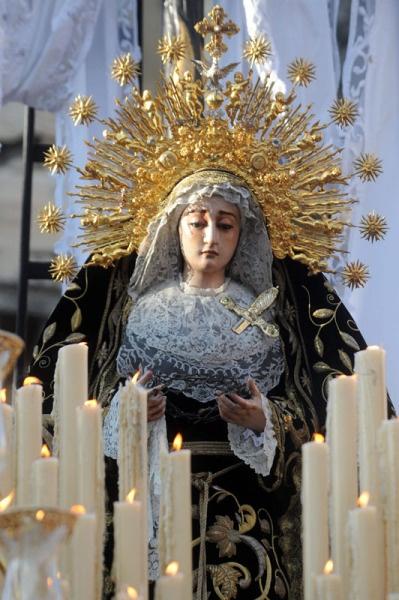 La Soledad de San Lorenzo, Sábado Santo. Semana Santa Sevilla 2012.  http://www.costatropicalevents.com/en/cultural/festivals.html