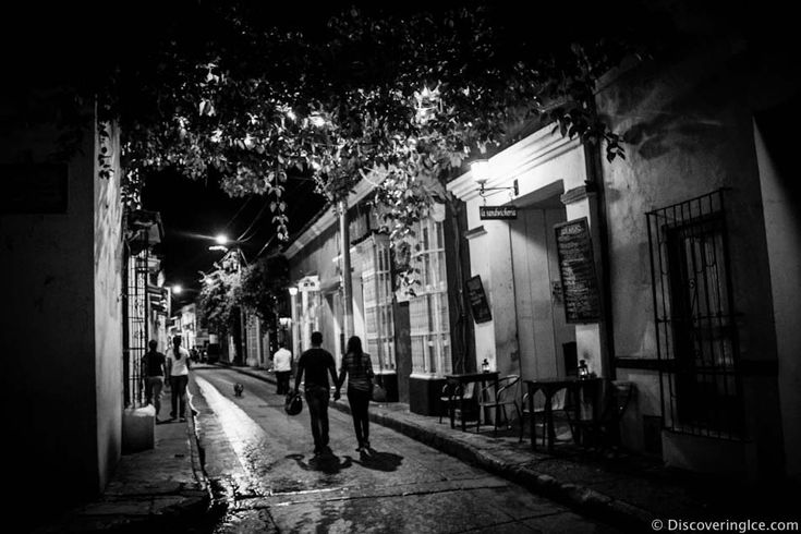 Black and White Photography - Cartagena, Colombia.