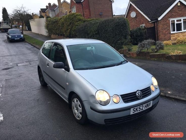 2002 VOLKSWAGEN POLO S SILVER  SPARES & REPAIRS  STARTS AND DRIVES  #vwvolkswagen #polos #forsale #unitedkingdom