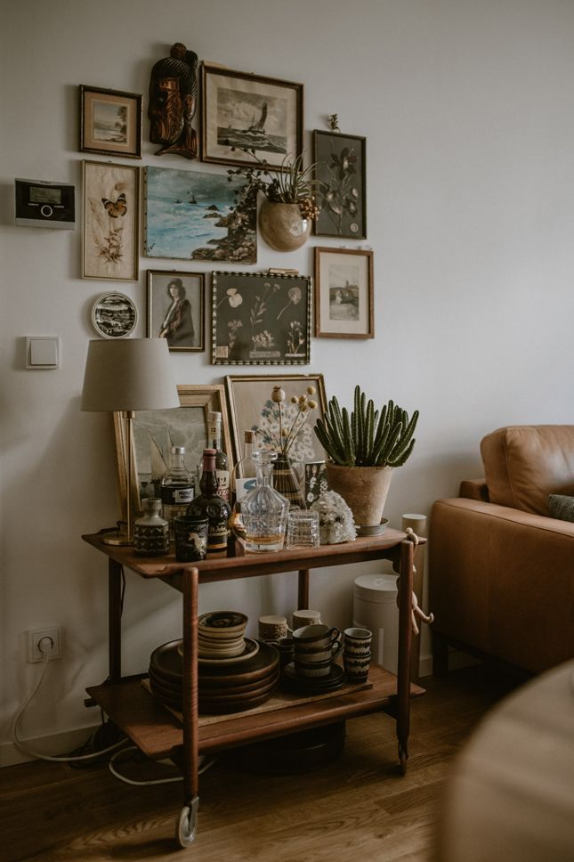 Home Tour: Bohemian Living Room · Happy Interior Blog