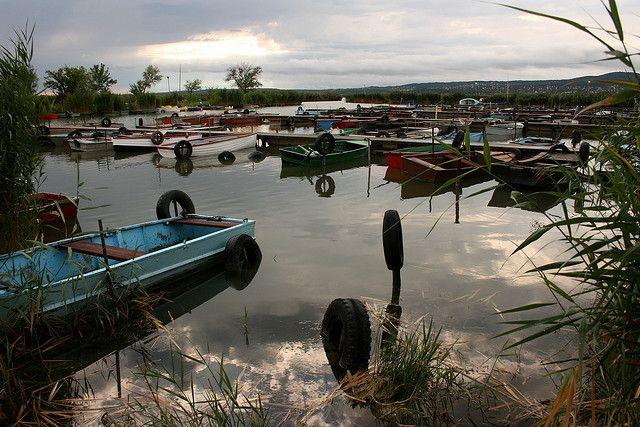 Lake Velence Hungary