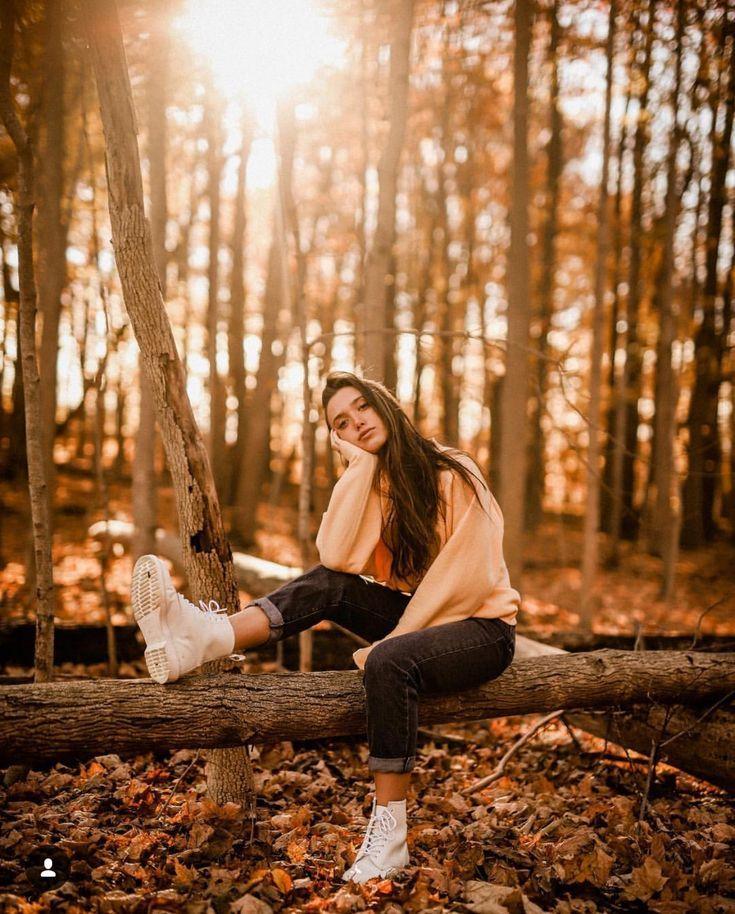 красивый фотосет в лесу идеи юрьевич рассказал