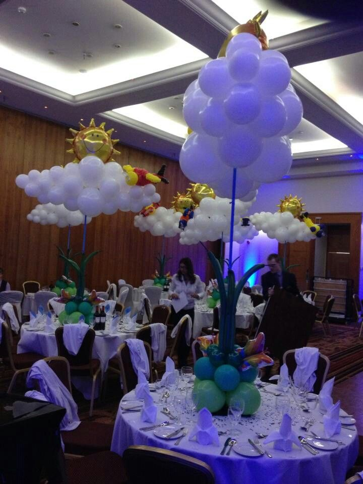 Air filled decor