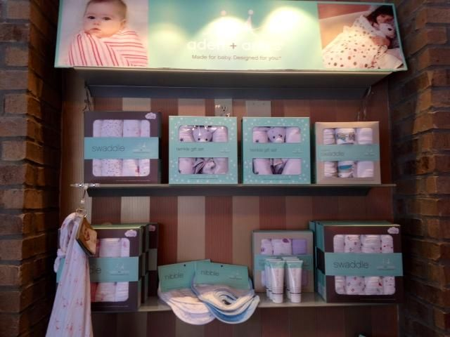 aden+anais has some of the best baby products. Amazing supersized and super soft swaddling blankets. New bath and body line and some of the best bibs around you certainly cannot go wrong with any of these items for a new baby.