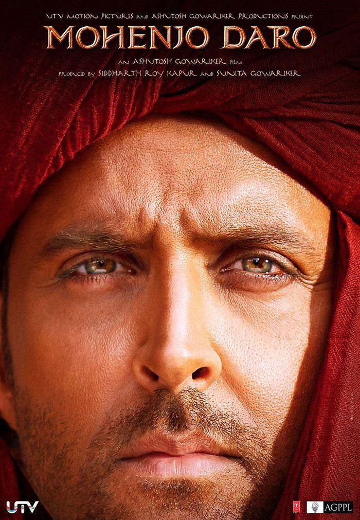 Hrithik Roshan as Sarman in Mohenjo Daro Poster