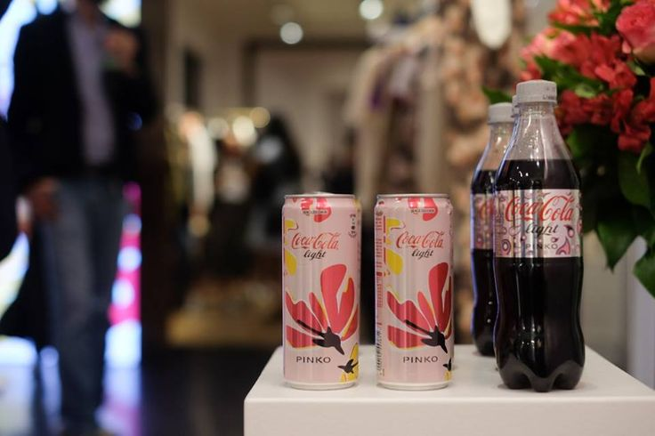 PINKO and Coca-Cola light #GlamTaste event