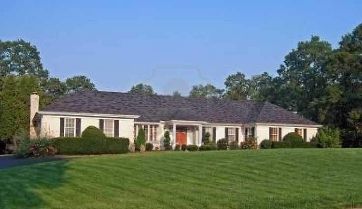 Ranch style home these homes have the following for Ranch style house characteristics