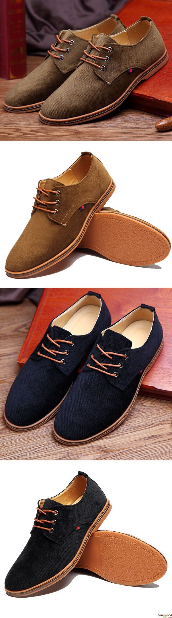 US$38.62+ Free Shipping Men comfortable lace up loafers. 3 colors available. size: us6.5~us12. fashion and chic. Men's shoes,men's loafers,loafers, oxford shoes,men's oxford shoes,casual shoes men's style, chic style, fashion style. Shop at banggood with super affordable price. #men'sshoes#men'sstyle#chic#style#fashion#style#wintershoes#casual#shoes#loafers#men'sloafers#oxfordshoes#men'soxfordshoes