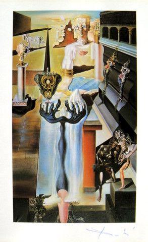 Salvador Dali, signed special Print, 1953