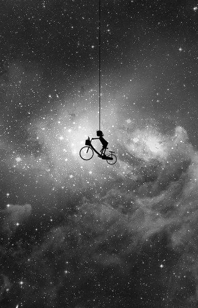 Inspiration: art. [Space Art Print]