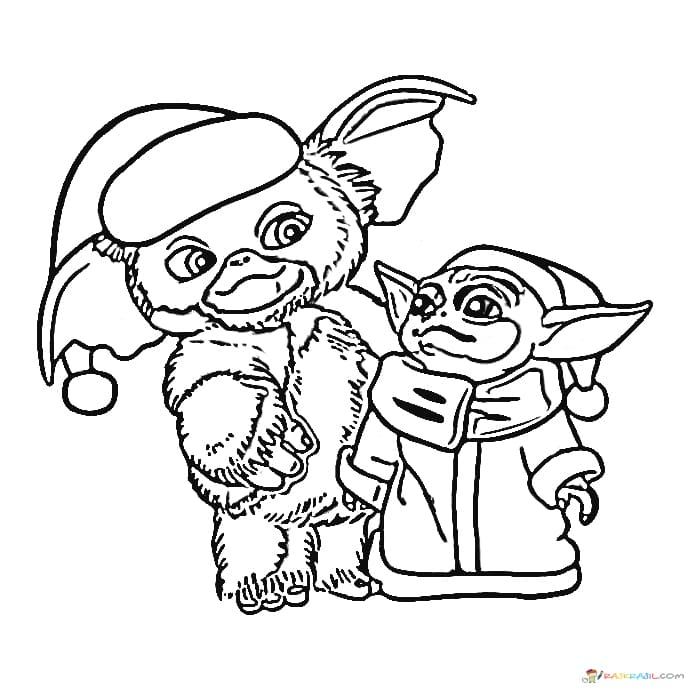 Coloring Pages Baby Yoda The Mandalorian And Baby Yoda Free Coloring Pages Unique Coloring Pages Wishes For Baby