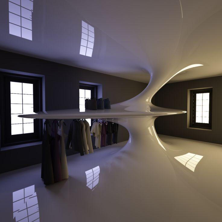 J in New York - Architecture by Omniview #algorithmicdesign #parametricdesign #digitalfabrication #furniture #interiordesign #tsigos