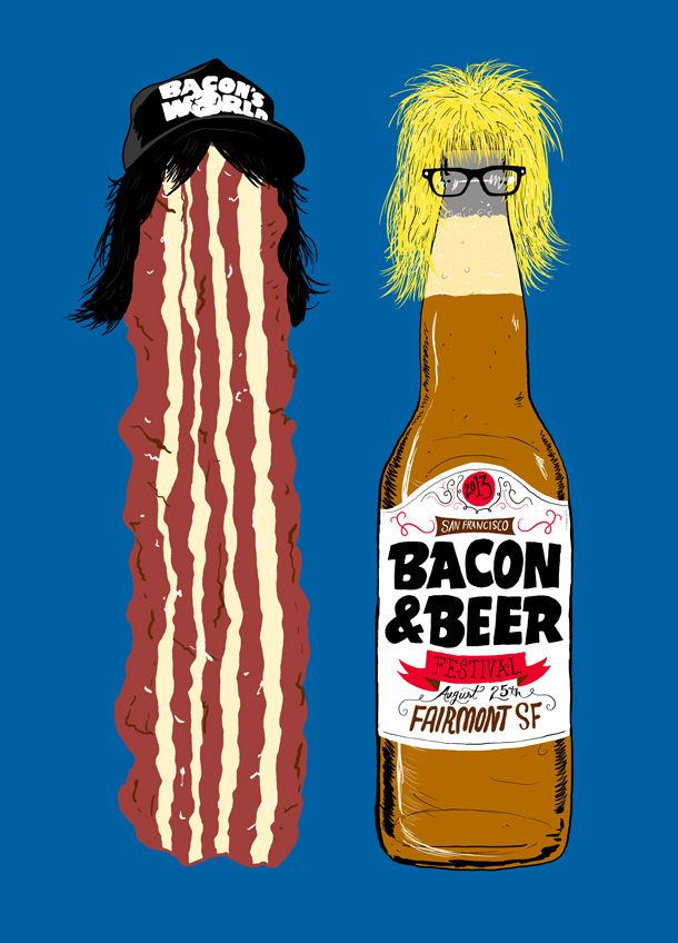 2013 San Francisco Bacon and Beer Festival Whaaaat?. Is this real and if so why wasn't I invited?.