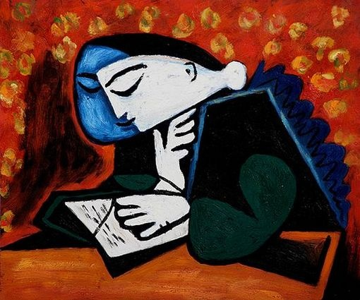 Girl Reading - Pablo Picasso