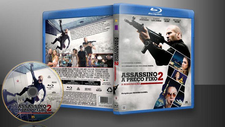 Assassino A Preço Fixo 2 - A Ressureição (Blu-Ray) - Capa | VITRINE - Galeria De Capas - Designer Covers Custom | Capas & Labels Customizados
