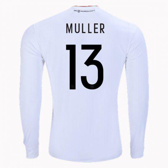 2017 Germany Soccer Team LS Home #13 Muller Replica Football Shirt 2017 Germany Soccer Team LS Home #13 Muller Replica Football Shirt | acejersey.org [I00692] - $27.99 : Cheap Soccer Jerseys,Cheap Football Shirts | Acejersey.org