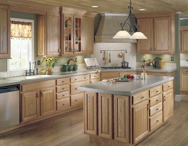 Kitchen: Country Kitchen Designs As A Dream Kitchen, Secondhand Island,  Twig Baskets Part 83