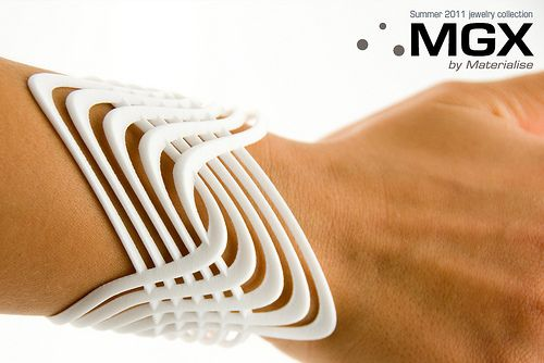 3D printed products | i.materialise gallery | Wavelet bracelet: Made by Igor Knezevic.