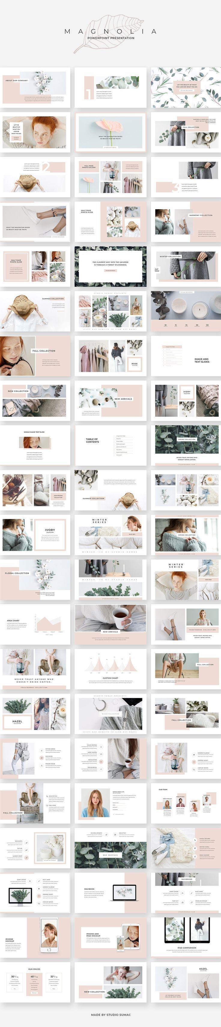 Magnolia PowerPoint Präsentation von Studio Sumac…