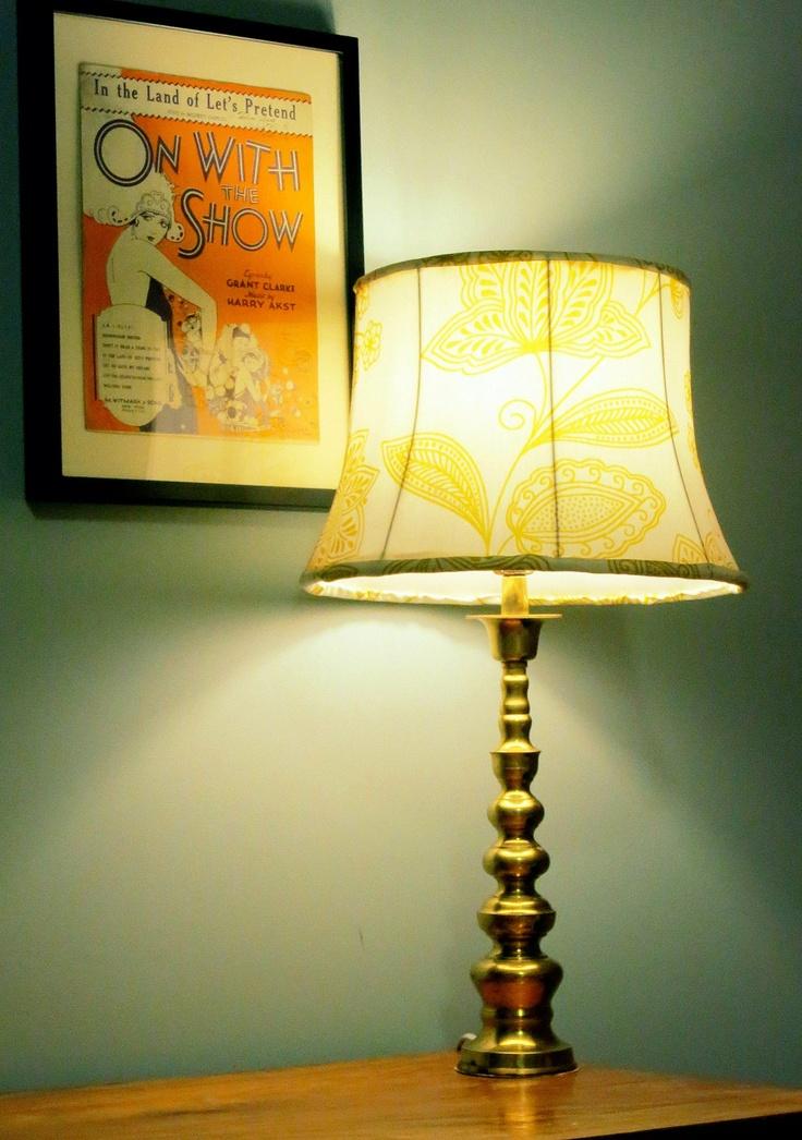 Vintage Brass Lamp $50