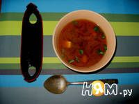 Рецепт мисо суп с тофу и вакаме