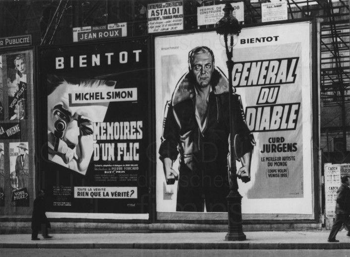 DES TEUFELS GENERAL (1955) Werbekampagne FR-release 1