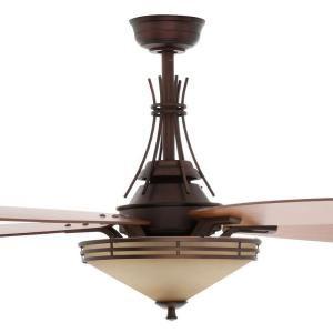 Hampton Bay Miramar II 60 in. Oil-Brushed Bronze Ceiling Fan AL60-OBB at The Home Depot - Mobile