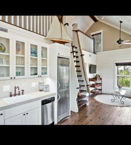 Coastal Kitchen Seattle Wa: 42 Best Cabin Stairs Images On Pinterest