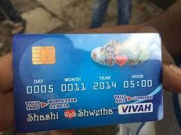 ATM Wedding Invitation: Because it is just not about withdrawing money ATM Card is just not about shopping or withdrawing money. As the card denotes 'money', a Sindhi or a Marwari is known for being business oriented and a kanjus.