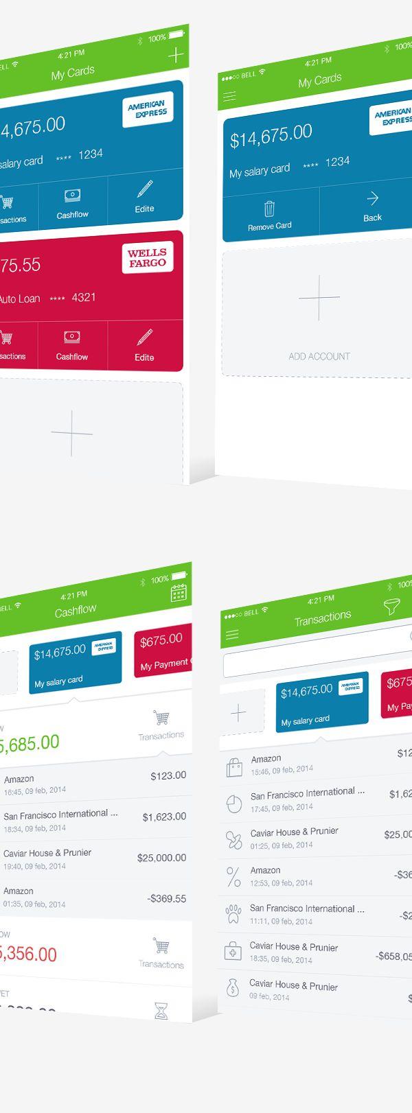 Financial IOS App on App Design Served