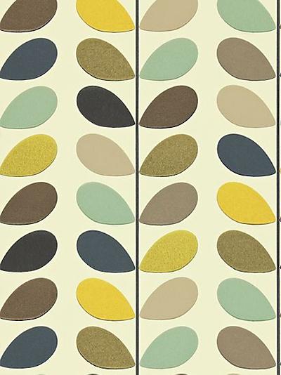 Buy Orla Kiely House for Harlequin Multi Stem Wallpaper, Multicoloured, 110385 online at JohnLewis.com - John Lewis
