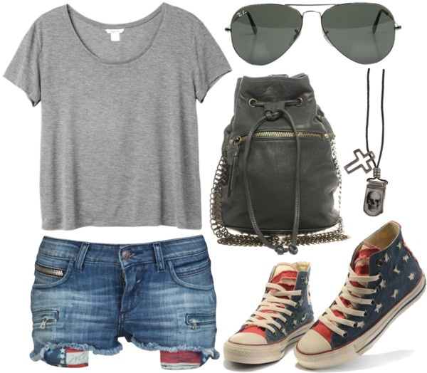 """In a Boyish Manner"" by ultimatequeenb on Polyvore: Casual Summer Outfits"